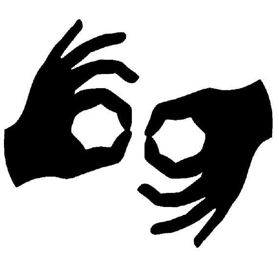 Image result for auslan interpreted performance symbol