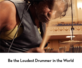 thumb-be the loudest drummer