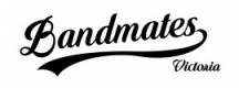 Bandmates Vic Logo jpeg medium - black on white