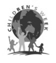 Childrens week logo B&W