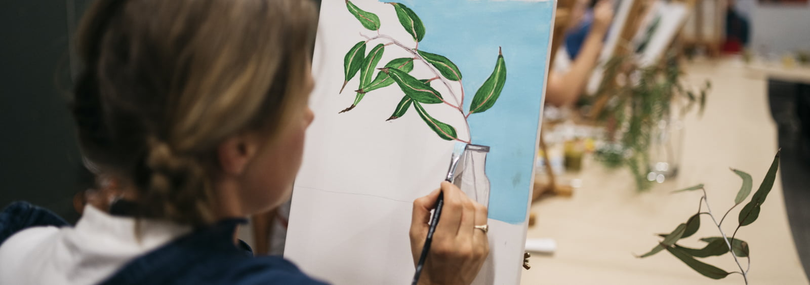 Express yourself with our creative workshops