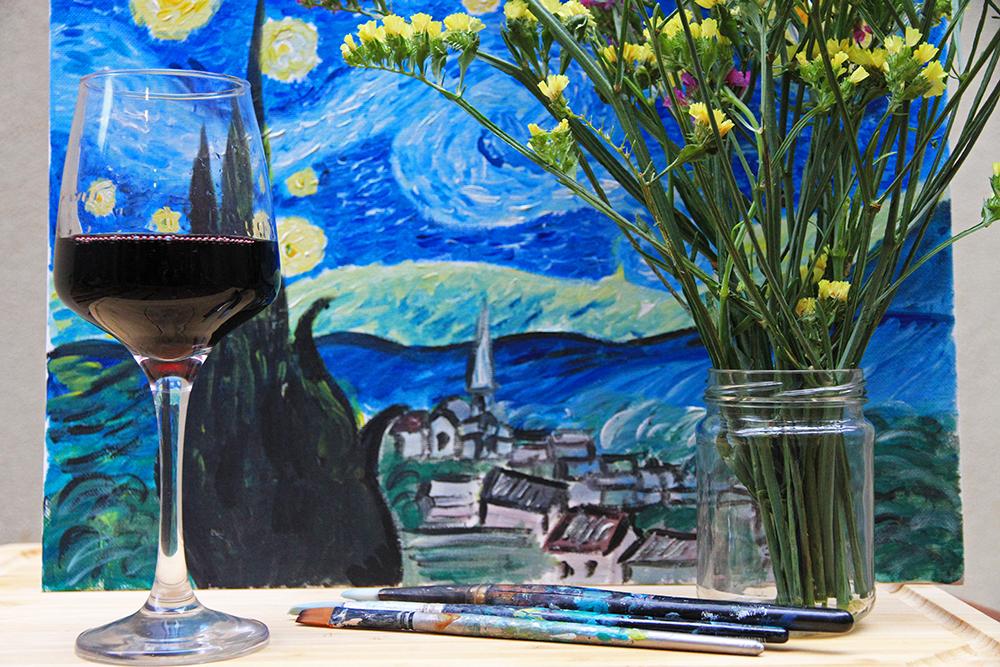 Happy Art Hour: Starry Night